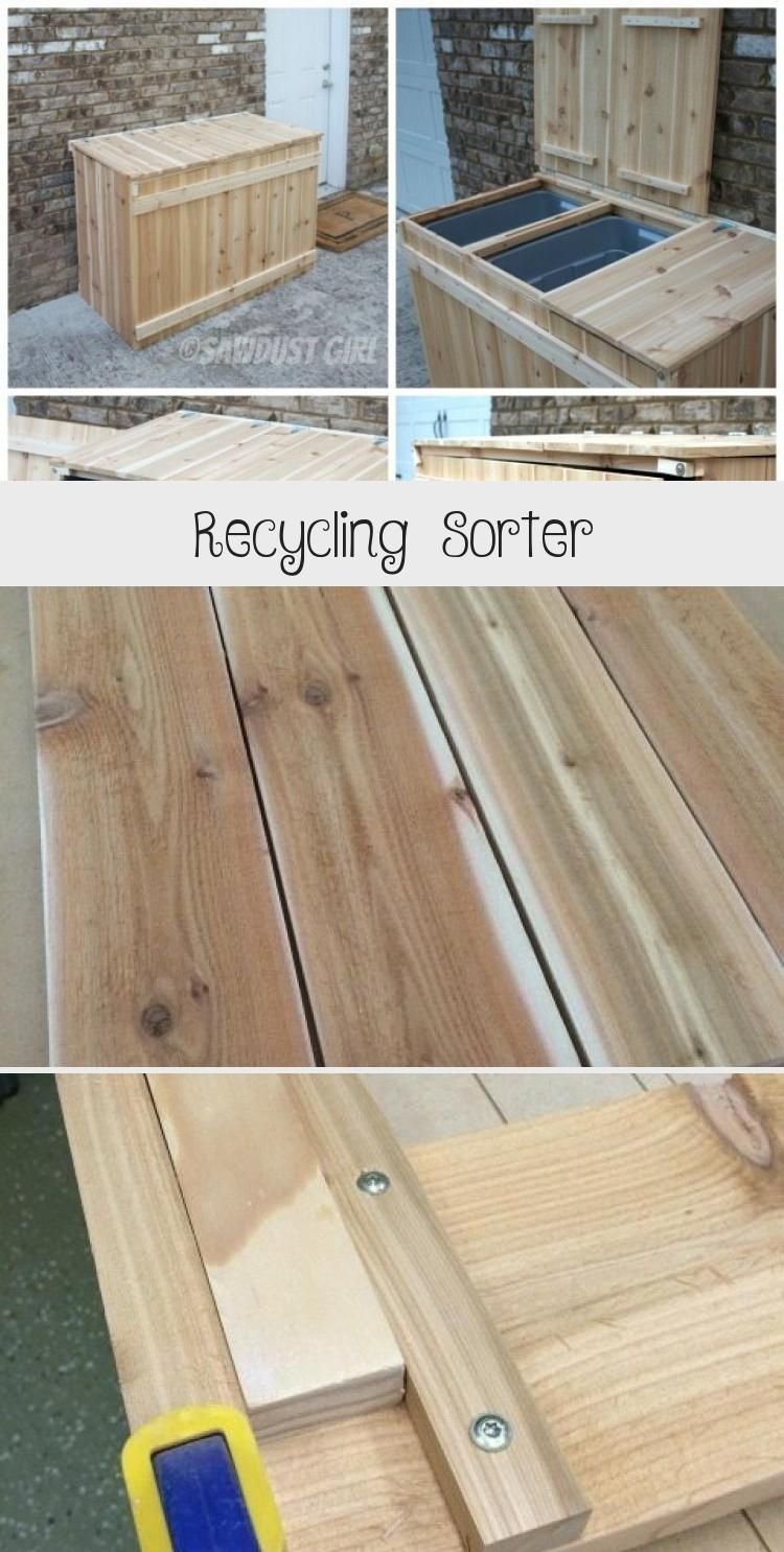 Recycling Sorter In 2020 Recycling Diy Recycle
