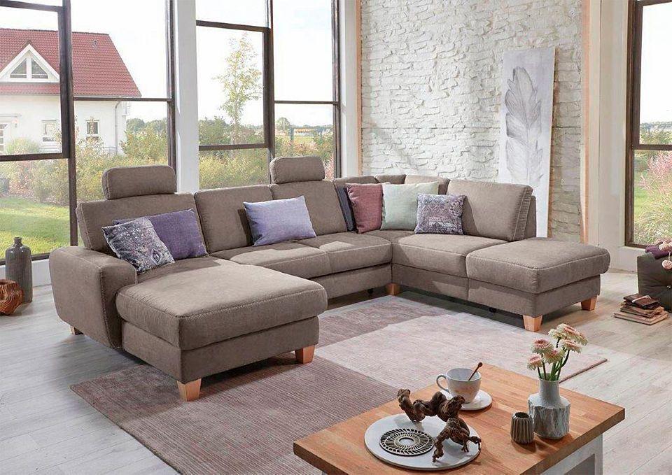sitmore Wohnlandschaft, wahlweise mit Bettfunktion, Stauraum und - big sofa oder wohnlandschaft