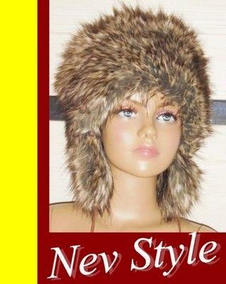 Futrzana Czapka Zimowa Damska Mongolka Eko Futro Style Crochet Hats Fashion