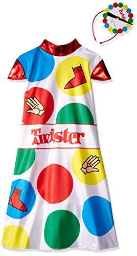 Disguise Hasbro Games Twister Girls Costume 46x Check Out The