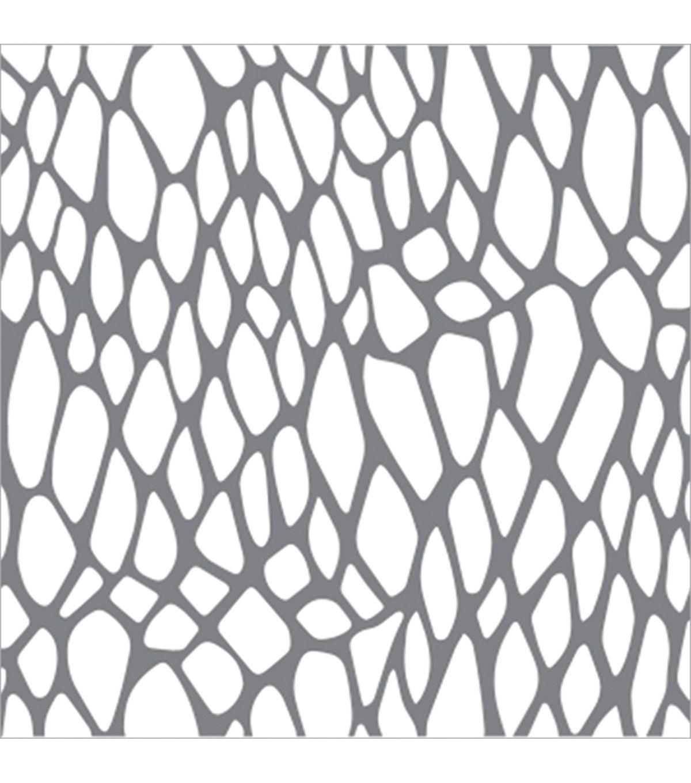 DecoArt Mixed Media Andy Skinner 6''x6'' Stencil-Snake's