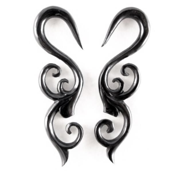 4 Gauge Earrings Organic Body Jewelry