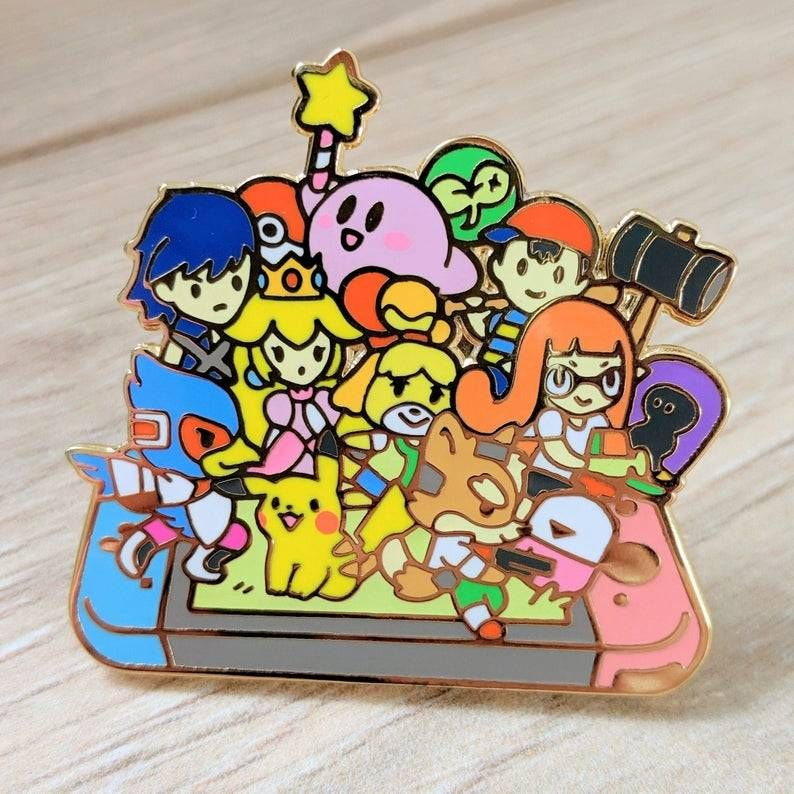 Nintendo Switch Pins made by BlueHerb -