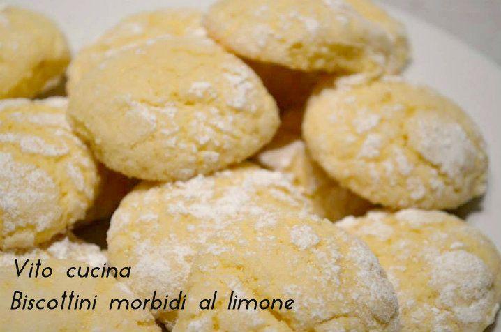 Biscottini morbidi al limone | Biscotti, Sweet tooth and Teeth