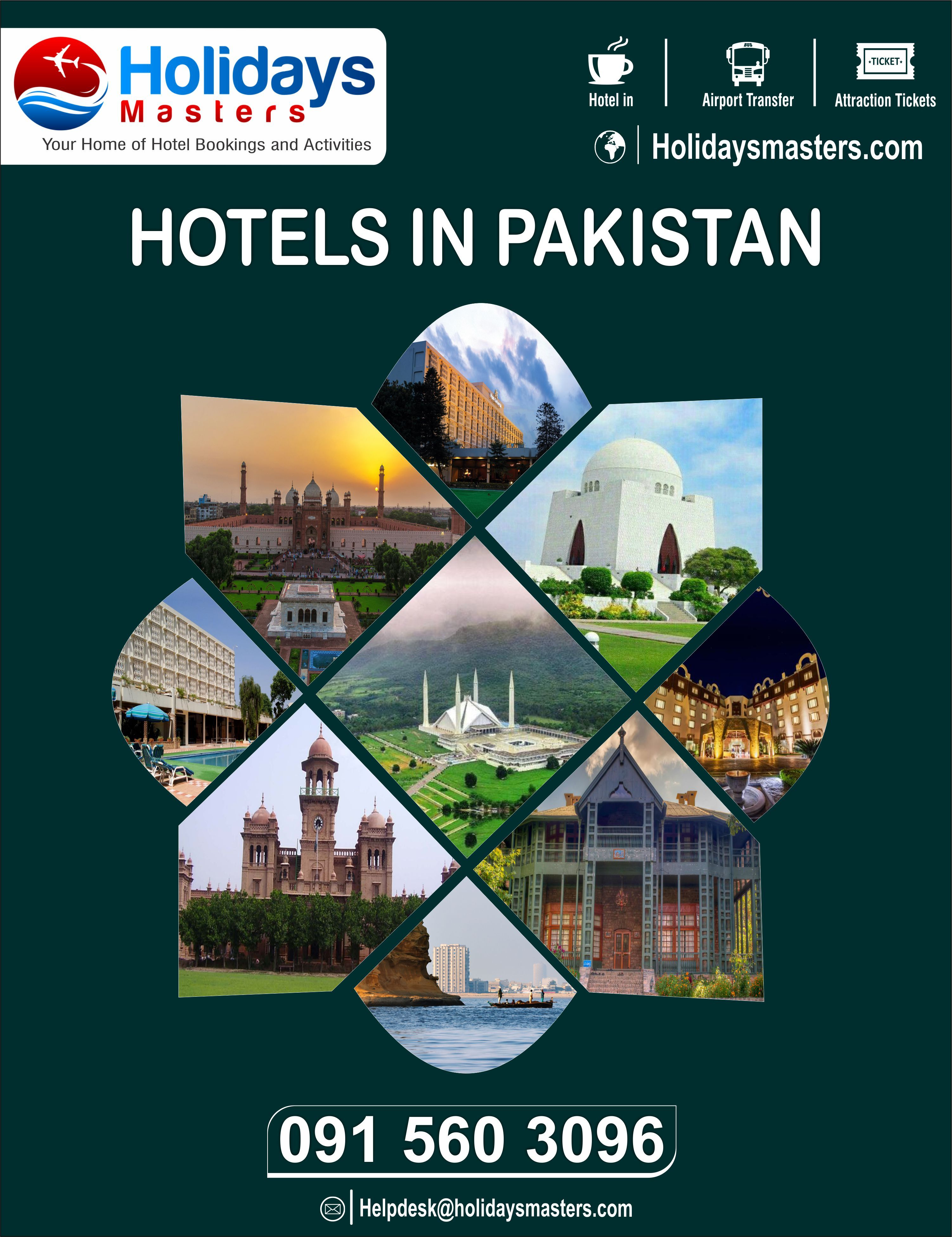 If You Are Looking For Best Hotels In Pakistan To Stay While