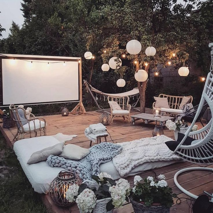 Bohemian Outdoor Designs And Ideas - -
