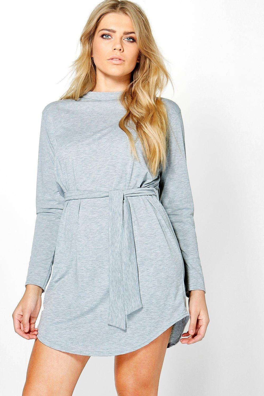 0726406a398 Long Sleeve T-shirt Dress - ShopStyle