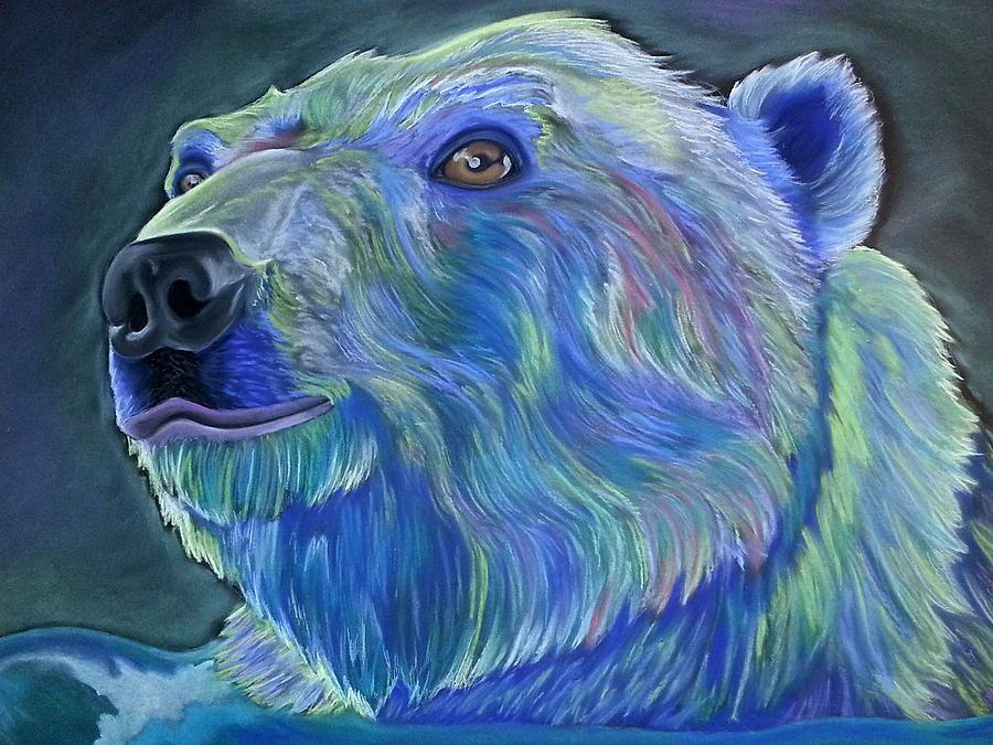 Polar Bear by Steven Santee Bear art, Animal art, Art