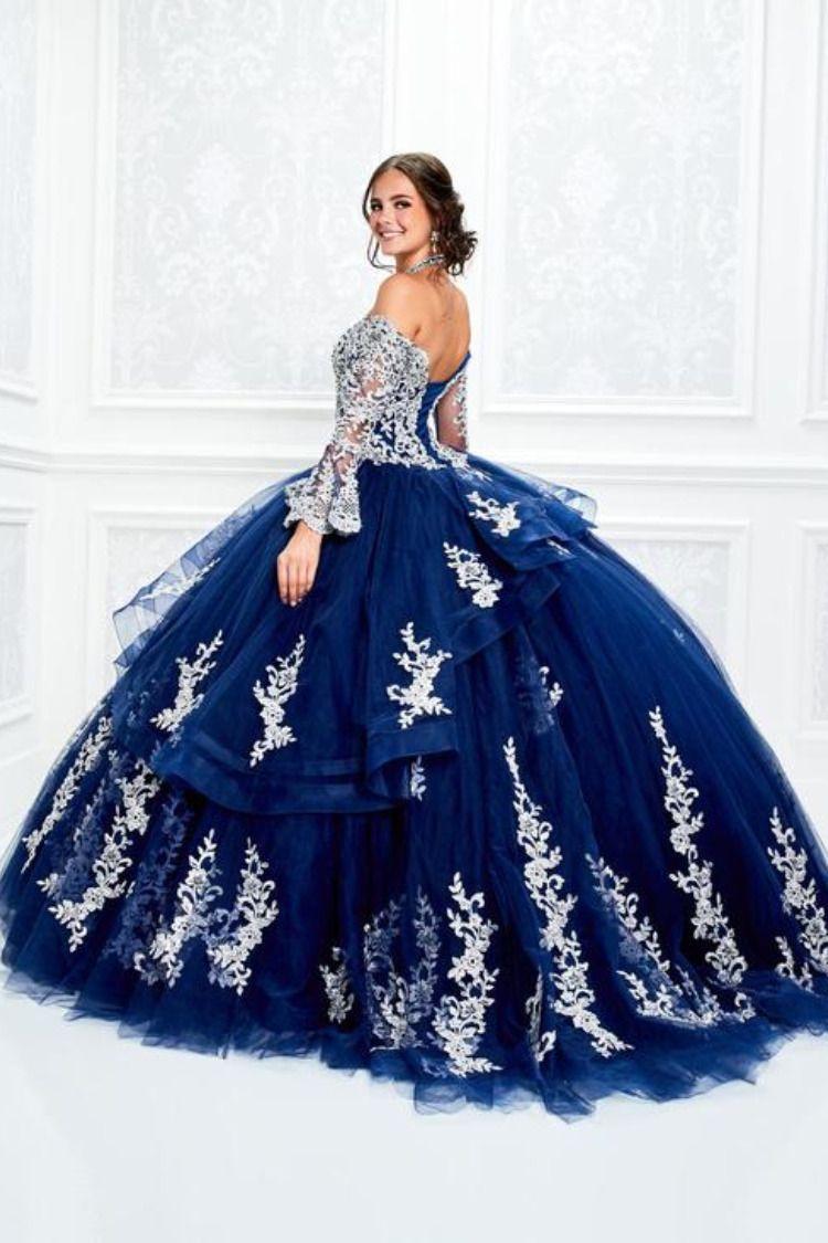 Quinceanera Dress Pr11927 Princesa In 2021 Pretty Quinceanera Dresses Quinceanera Dresses Blue Quincenera Dresses [ 1125 x 750 Pixel ]
