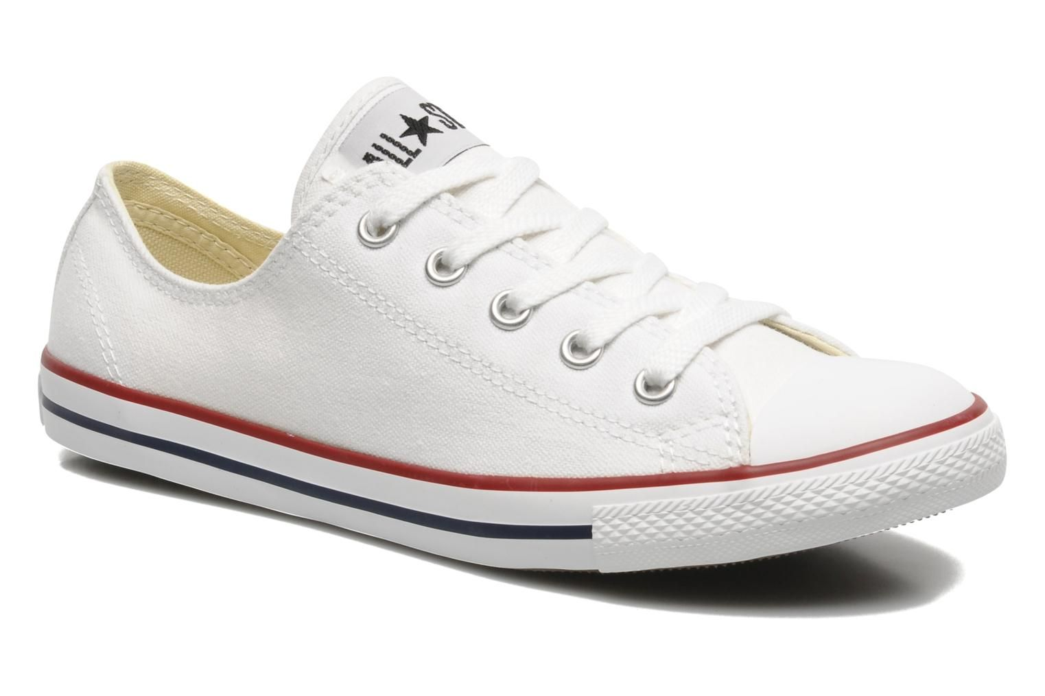 converse dainty blanche femme