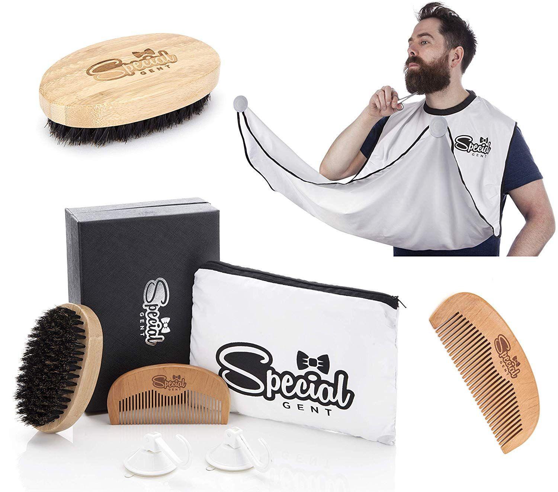 Beard Grooming Kit for Men Beard Apron