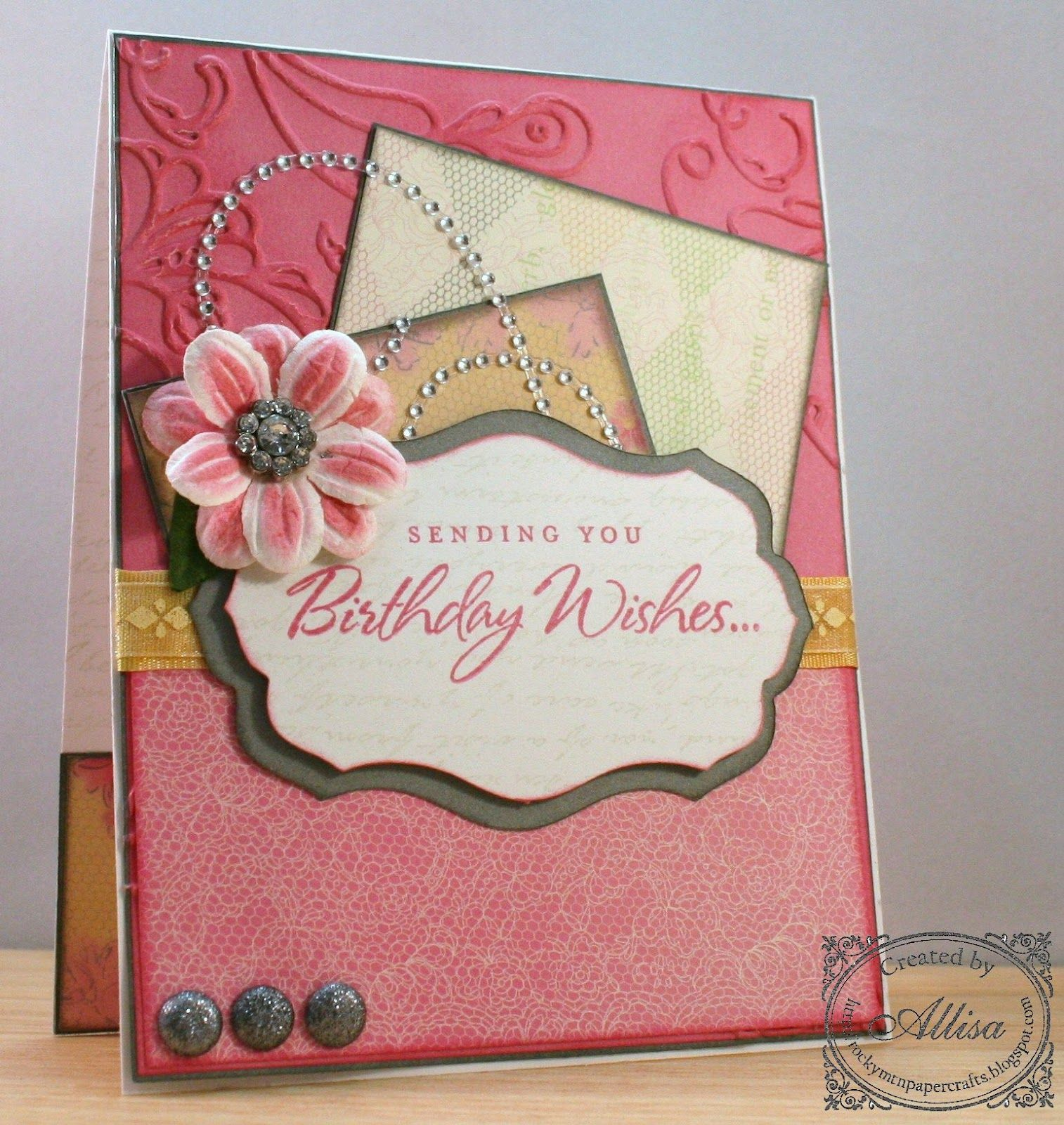 Card Chatter Birthday Bd Cards 2 Pinterest Cards