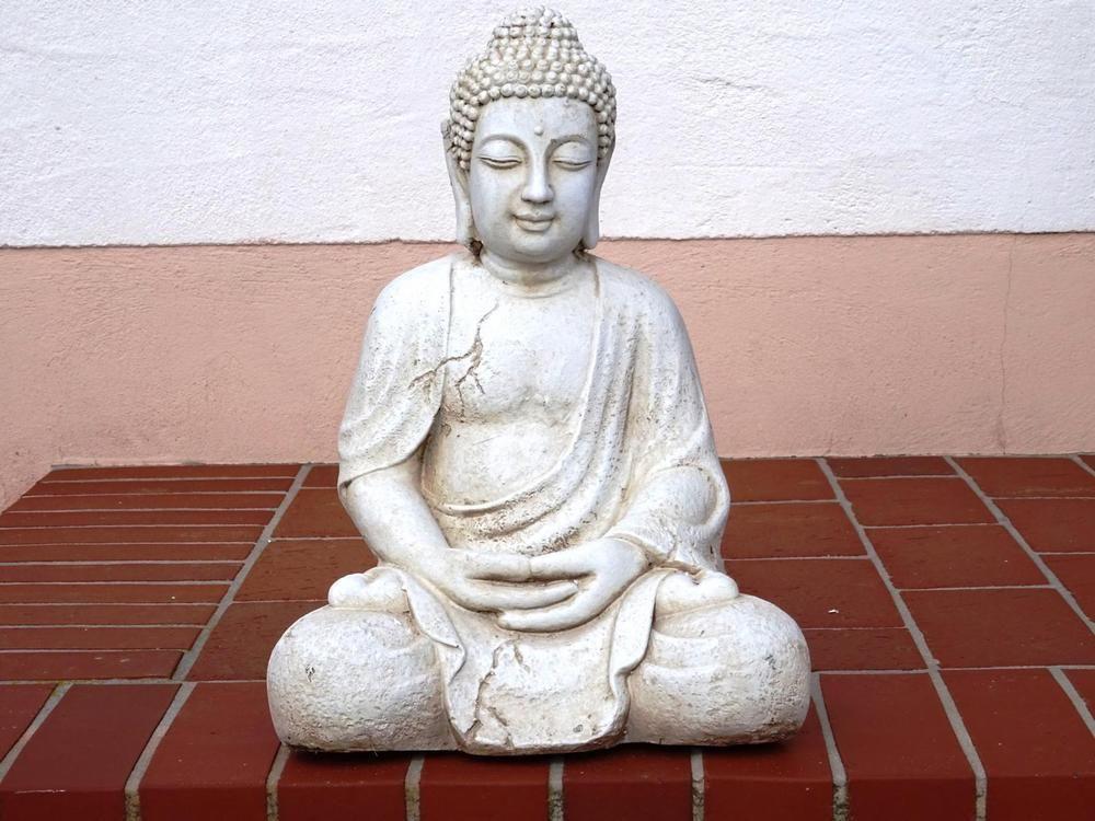 XL DELUXE Buddha~Budda~Deko-Figur~Statue~Feng Shui~Lotus ASIA~Thai ...