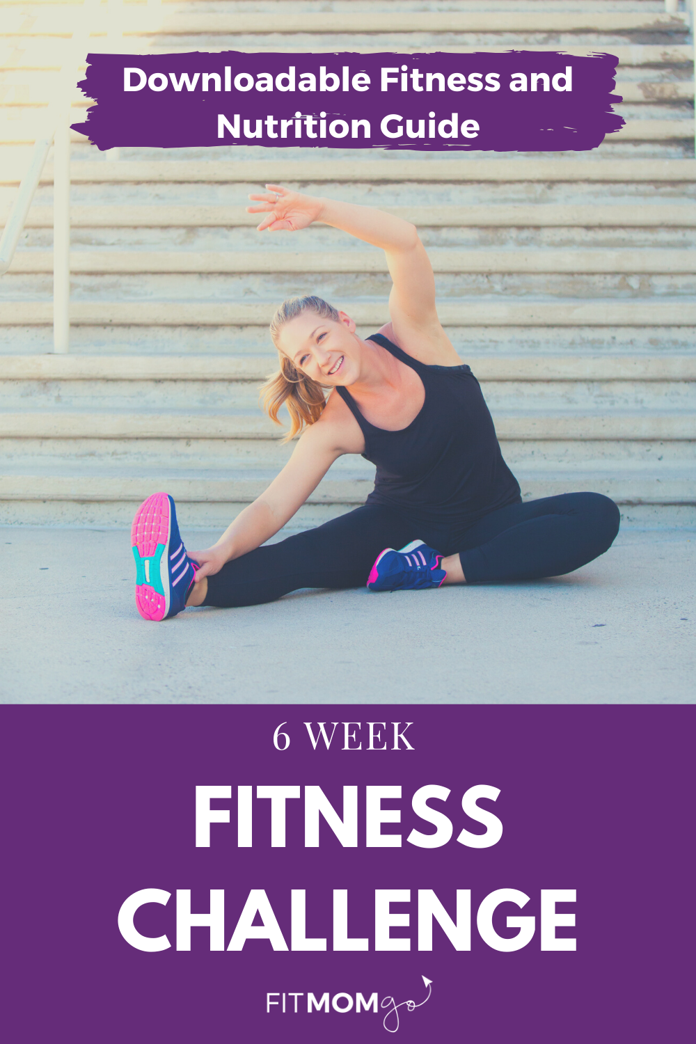 6 Week Fitness Challenge Downloadable Guide In 2020 Workout Challenge Fit Mom Motivation Strength Workout