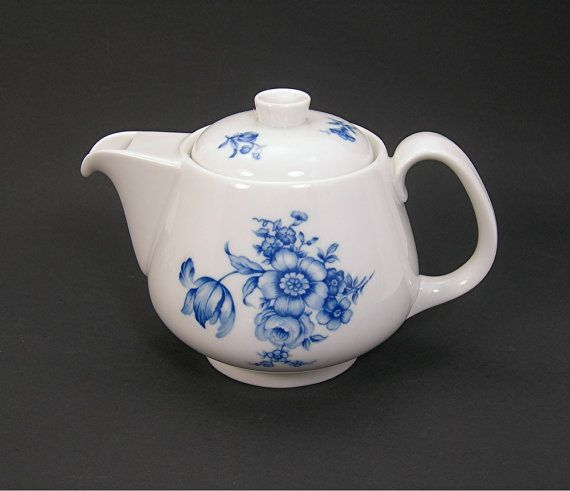 Rosenthal Individual 2-Cup Teapot Germany by AtticDustAntiques