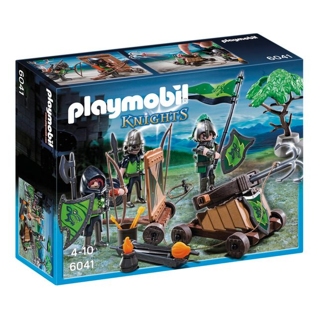 , Playmobil – Caballeros de lobo catapulta Playmobil Knights, My Pop Star Kda Blog, My Pop Star Kda Blog