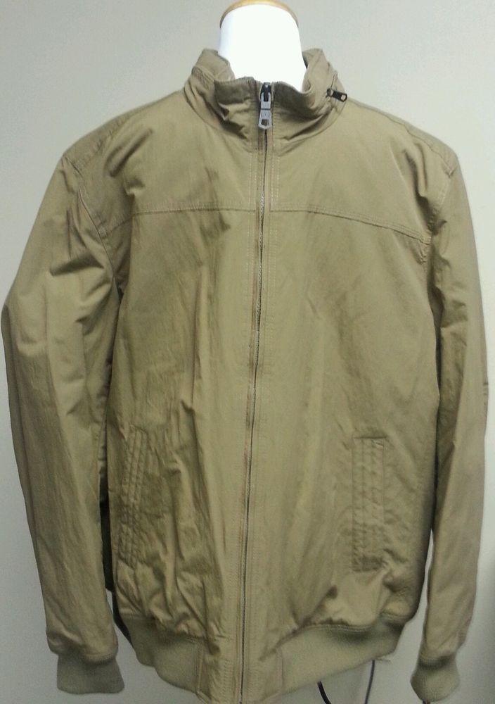 NWT Tommy Hilfiger Jacket Khaki #Barracuda Bomber Mens XXLarge  #TommyHilfiger #FlightBomber
