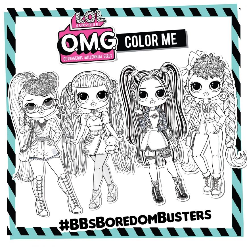 Omg Fashion Doll Miss Independent Coloring Page Hello Kitty Colouring Pages Hello Kitty Coloring Coloring Pages