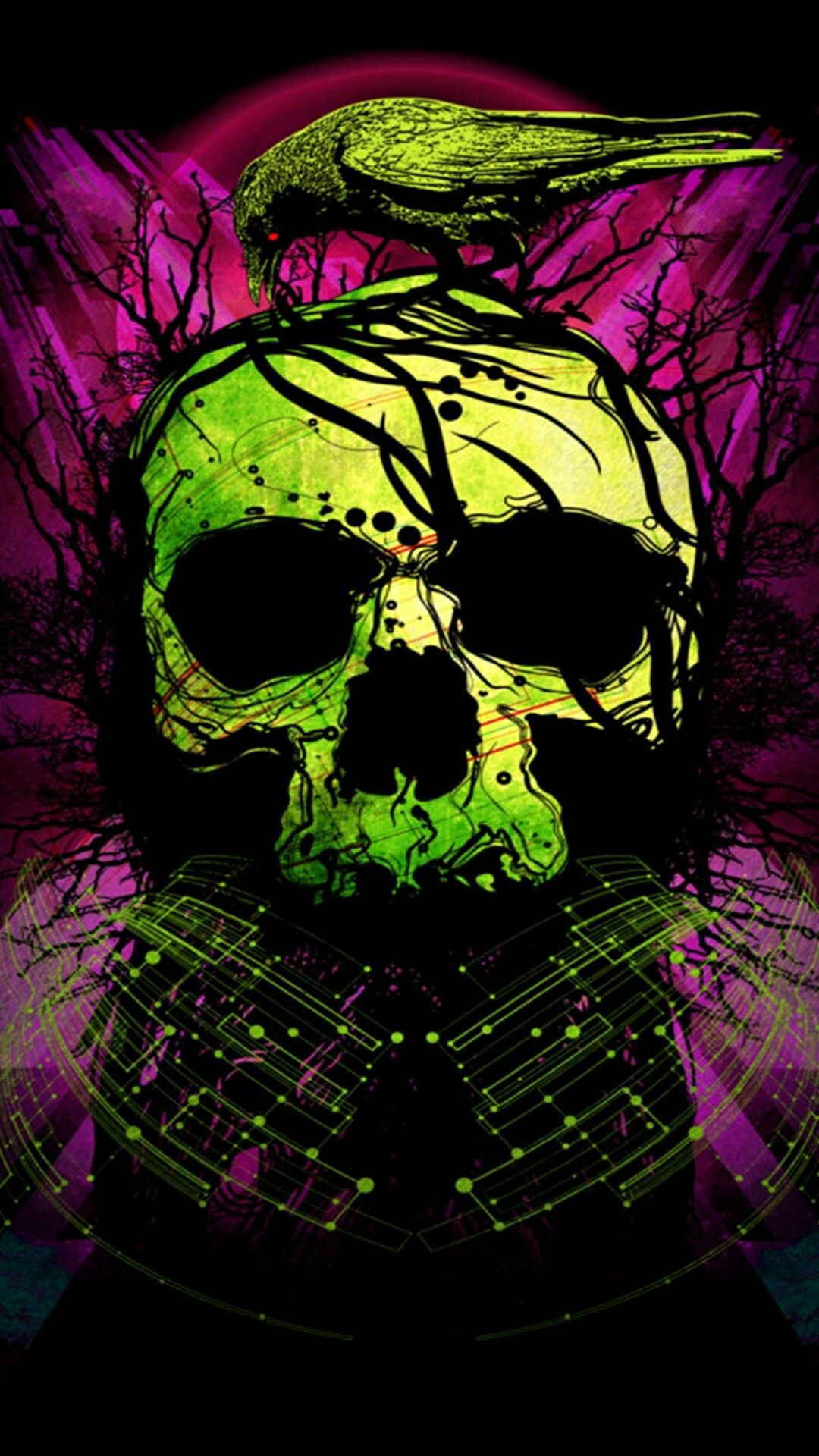 Pin by christina kirkendall on wallpapers 2 Skull