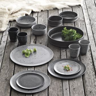 raw teller 20cm grau gemustert aida kitchen. Black Bedroom Furniture Sets. Home Design Ideas