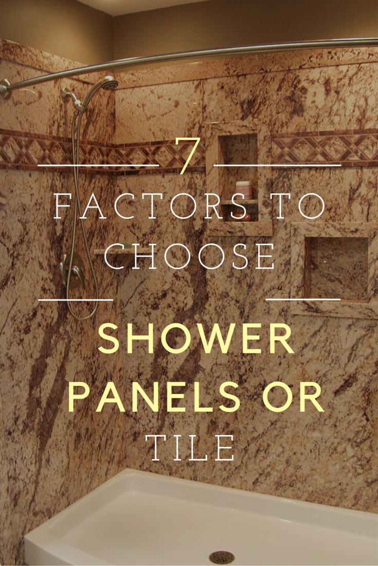 Revolutionary Shower Bathroom Remodel Look Like Tiles By Maax Hwy - Fake tile panels for bathroom walls