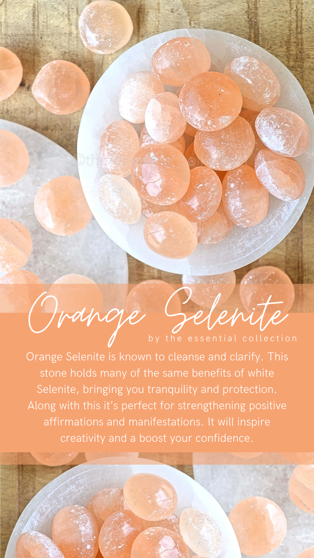 Orange Selenite Meaning Crystals To Cleanse Clarify Crystal Healing Meditation Crystals Spiritual Crystals Crystals