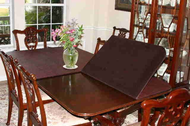 Dining Room Pads For Table Dining Table Pads  Pads For Saving Your Dining Table's Life