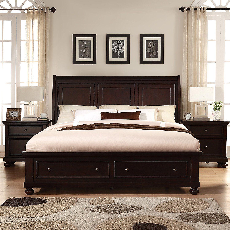 Best Amazon Com Roundhill Furniture Brishland Solid Wood 640 x 480
