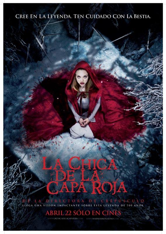 Red Riding Hood Caperucita Roja La Chica De La Capa Roja Caperucita Roja Peliculas De Terror Carteles De Películas