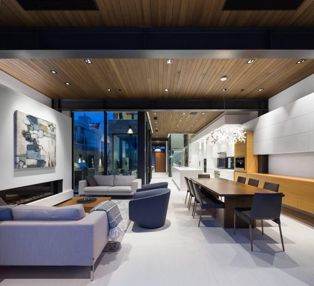 Luxury Contemporary Basement Ideas