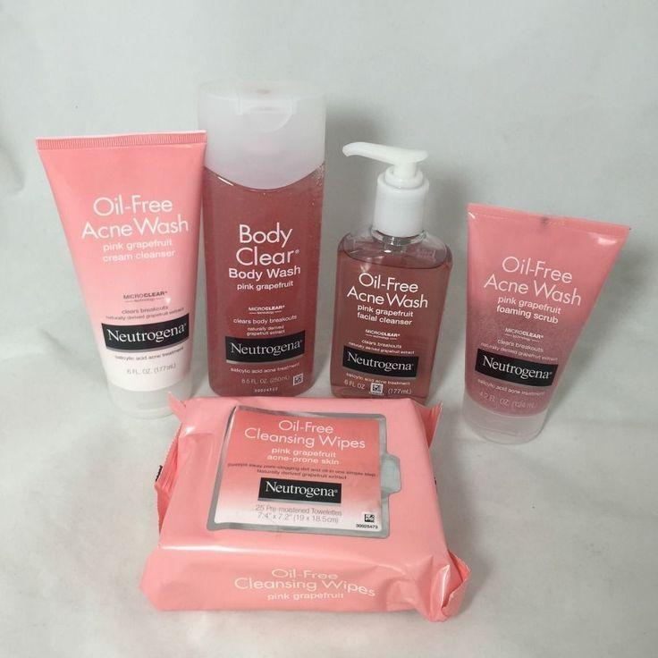 Neutrogena Pink Grapefruit Hautpflege Kollektion 070501061626A2837 #SkinCareRouti ..., # 070501 ...