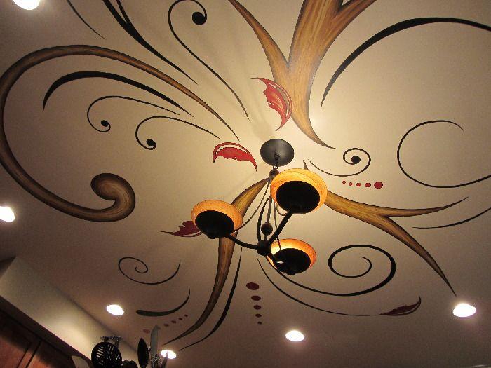 Ceiling Graphic Worthington OH 2012 mural idea By Bonie Bolen