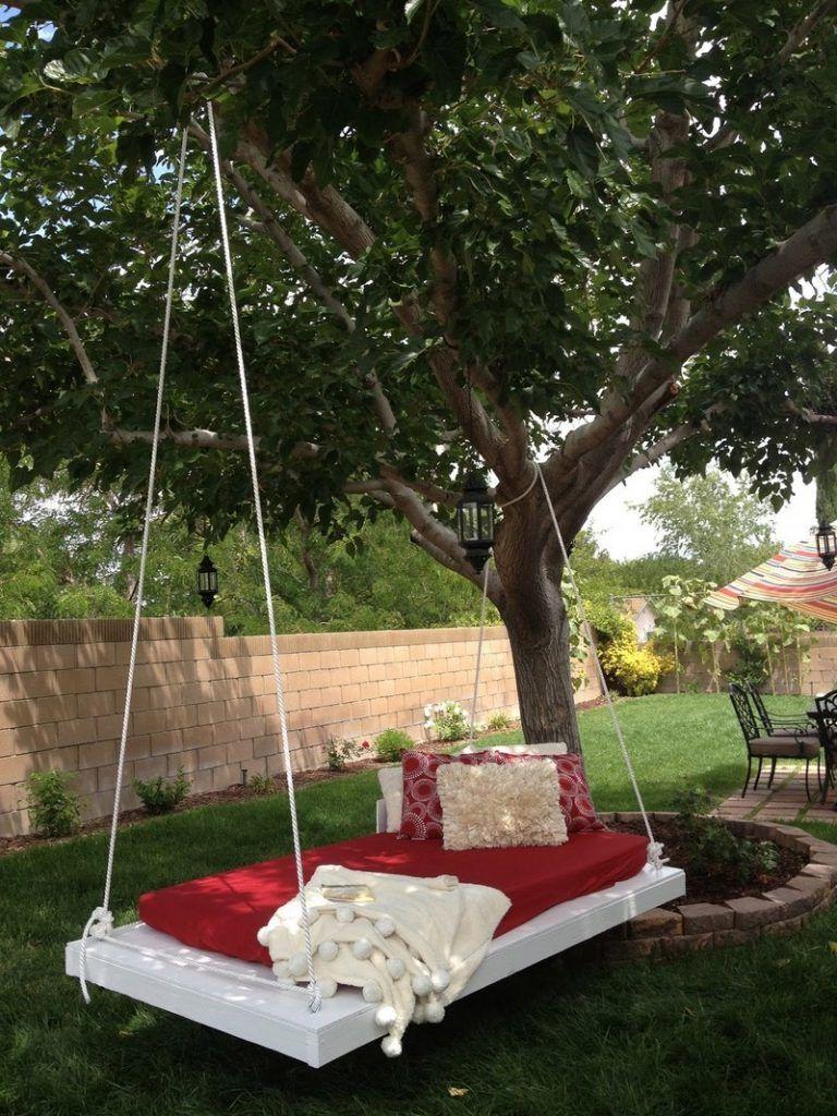 Hangebett Selber Bauen 44 Diy Ideen Fur Bett Aus Paletten Im Garten