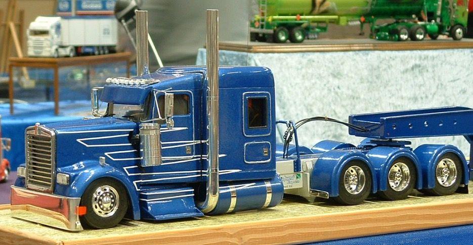 Pin by Tim on Model trucks | Model truck kits, Customised