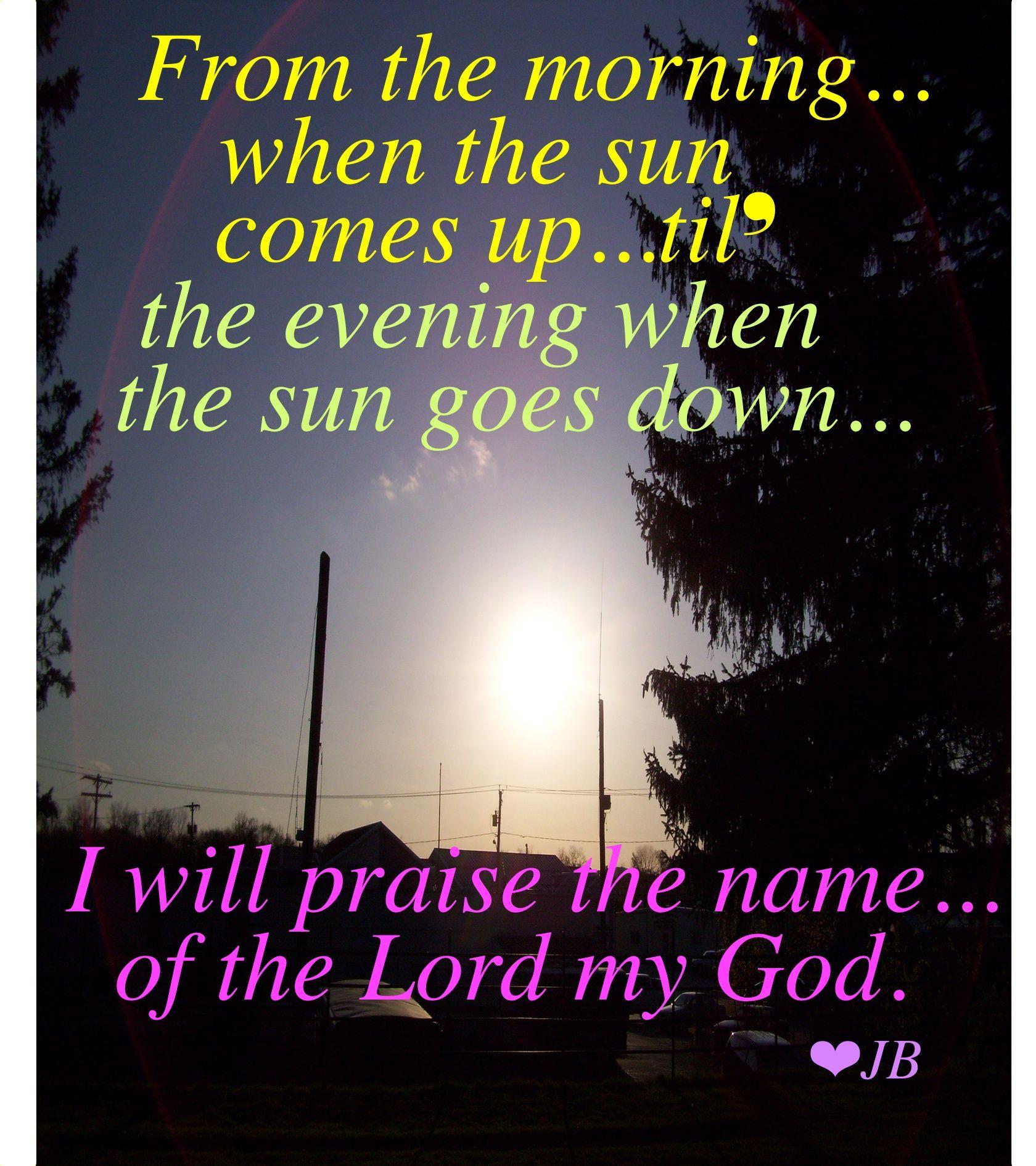Praise God... | quotes | Pinterest