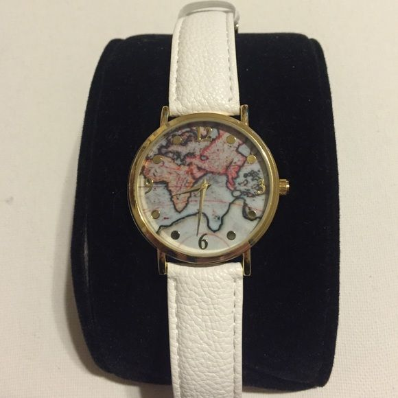🎉New🎉Fabulous World Map Watch❤ My Posh Picks