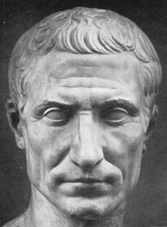 Victoria Carrera: Elegí esta imagen porque muestra a uno de los personajes importantes en la República romana, Julio Cesar.