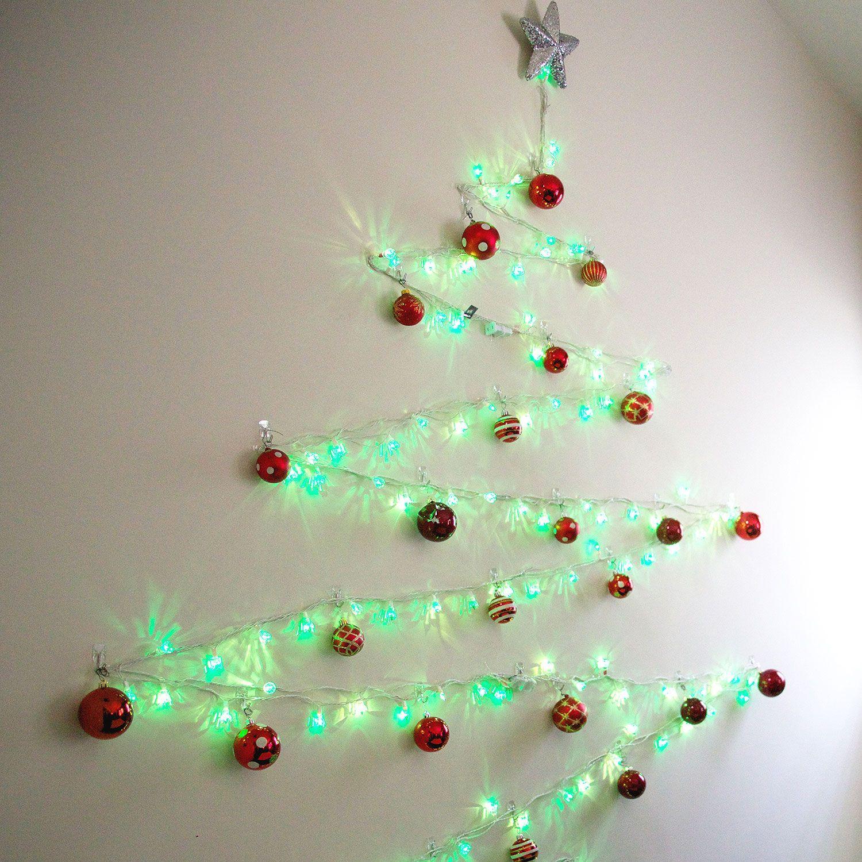 String of Lights Christmas Tree mand