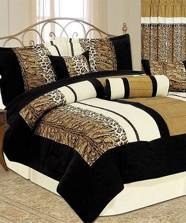 Love This Animal Print Luxury Comforter Set By Maison Lux