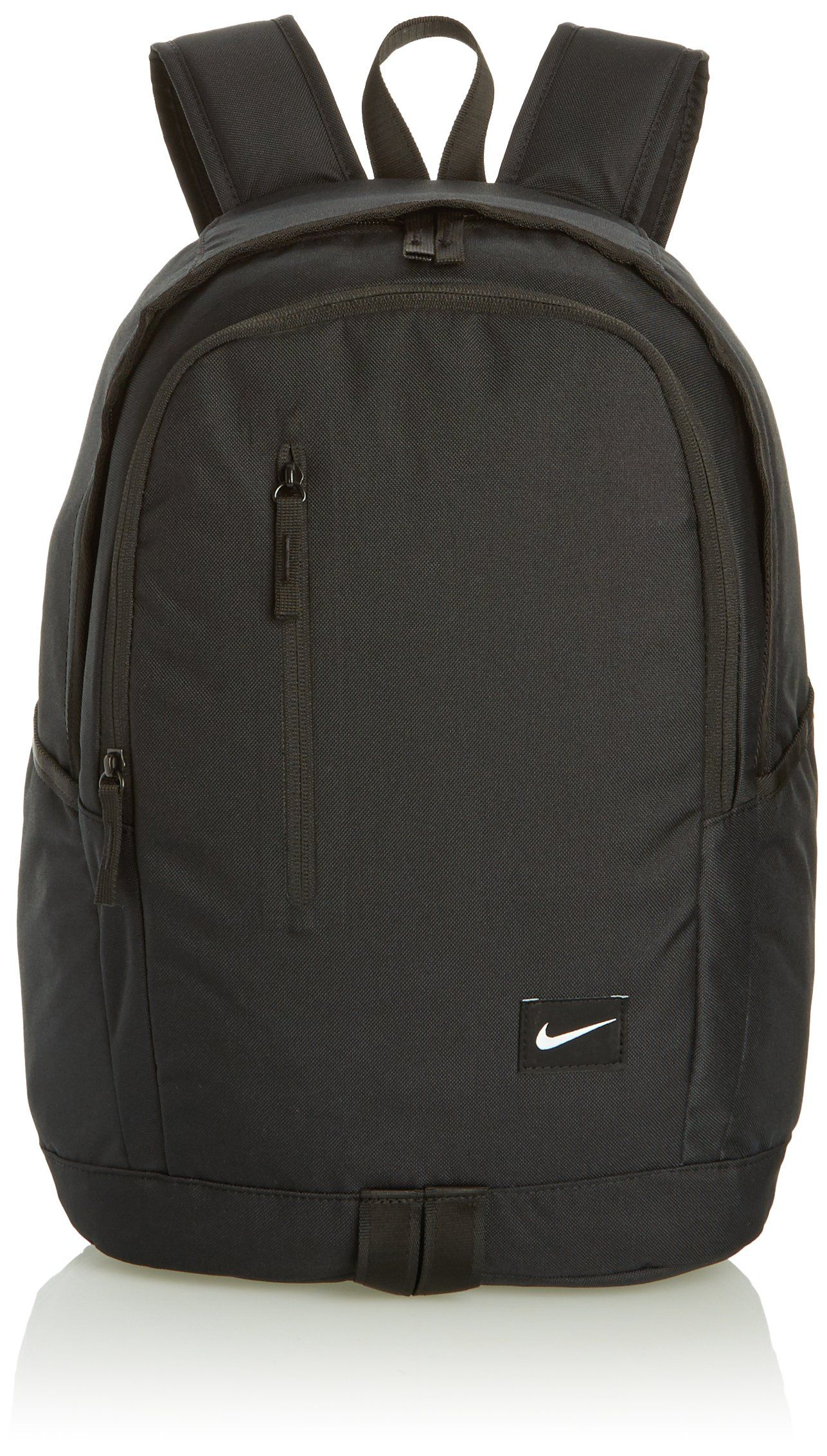 b2ec342c95 NIKE Male ALL ACCESS SOLEDAY Backpack Book Bag BA4857-001. Tough 600D  polyester helps