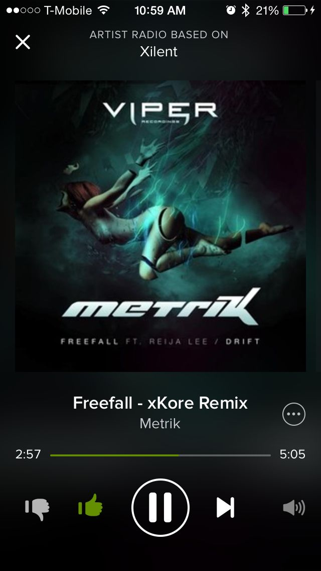 Metrik Freefall Xkore Remix Feat Reija Lee Free Music