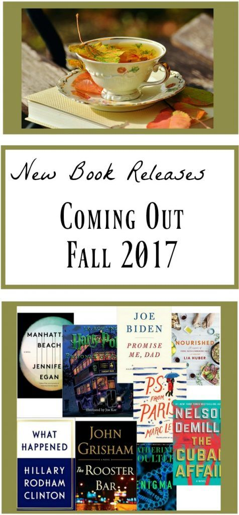 10 New Book Releases Coming Fall 2017 ~ Be the First to Know! is part of Book release, New books, Books, Upcoming books, Release, Book recommendations - Each new season bring a new bunch of new book releases! Here's a list of 10 upcoming book releases coming out before the end of the year