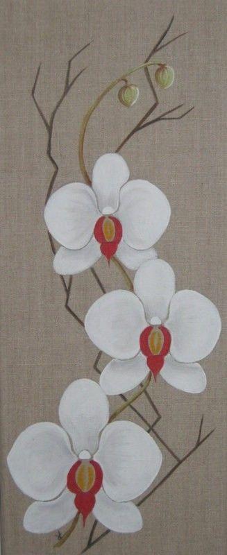 peinture acrylique sur toile fleurs recherche google art pinterest peinture acrylique. Black Bedroom Furniture Sets. Home Design Ideas