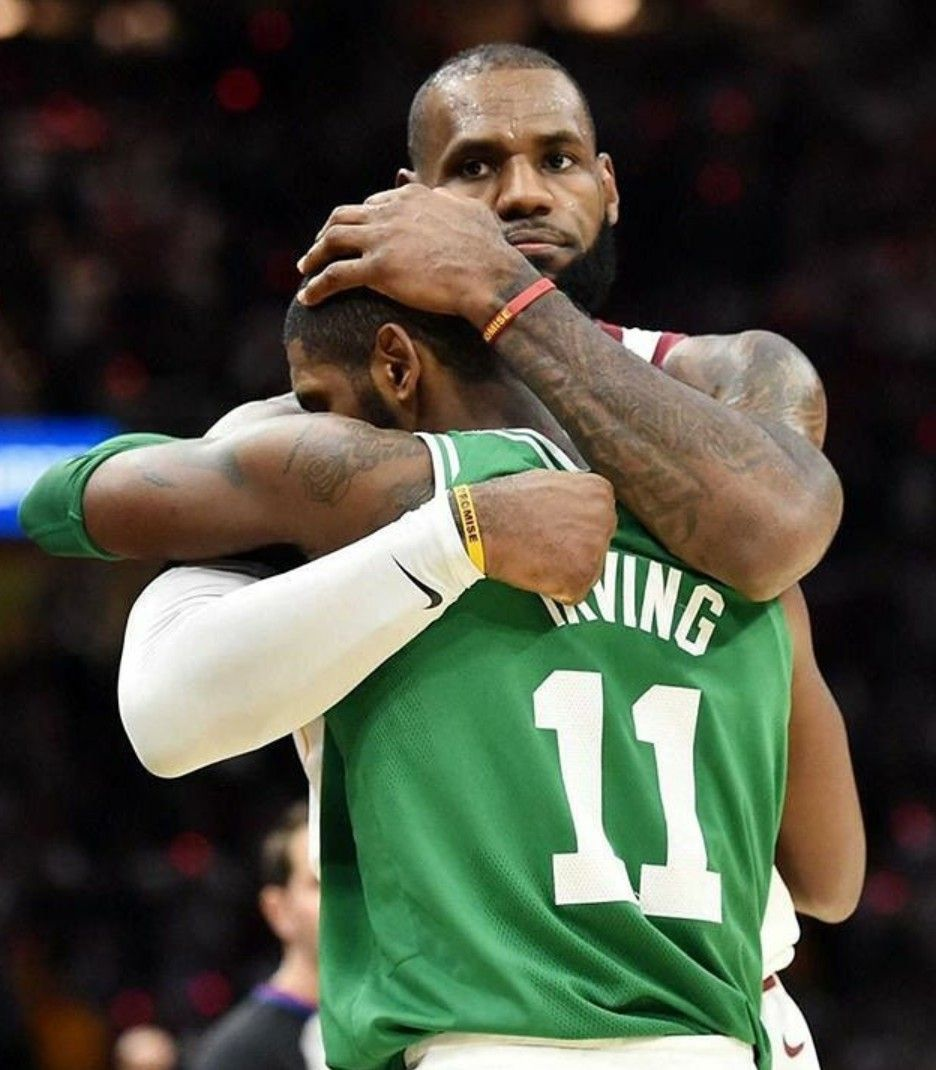 Kyrie Irving and Lebron James 😢❤️ will miss their chemistry so much 😭