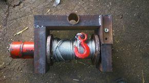 Fabrication Treuil Hydraulique Pour Fendeuse Treuil Hydraulique Fendeuse A Bois