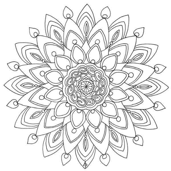 calm coloring pages - photo#35