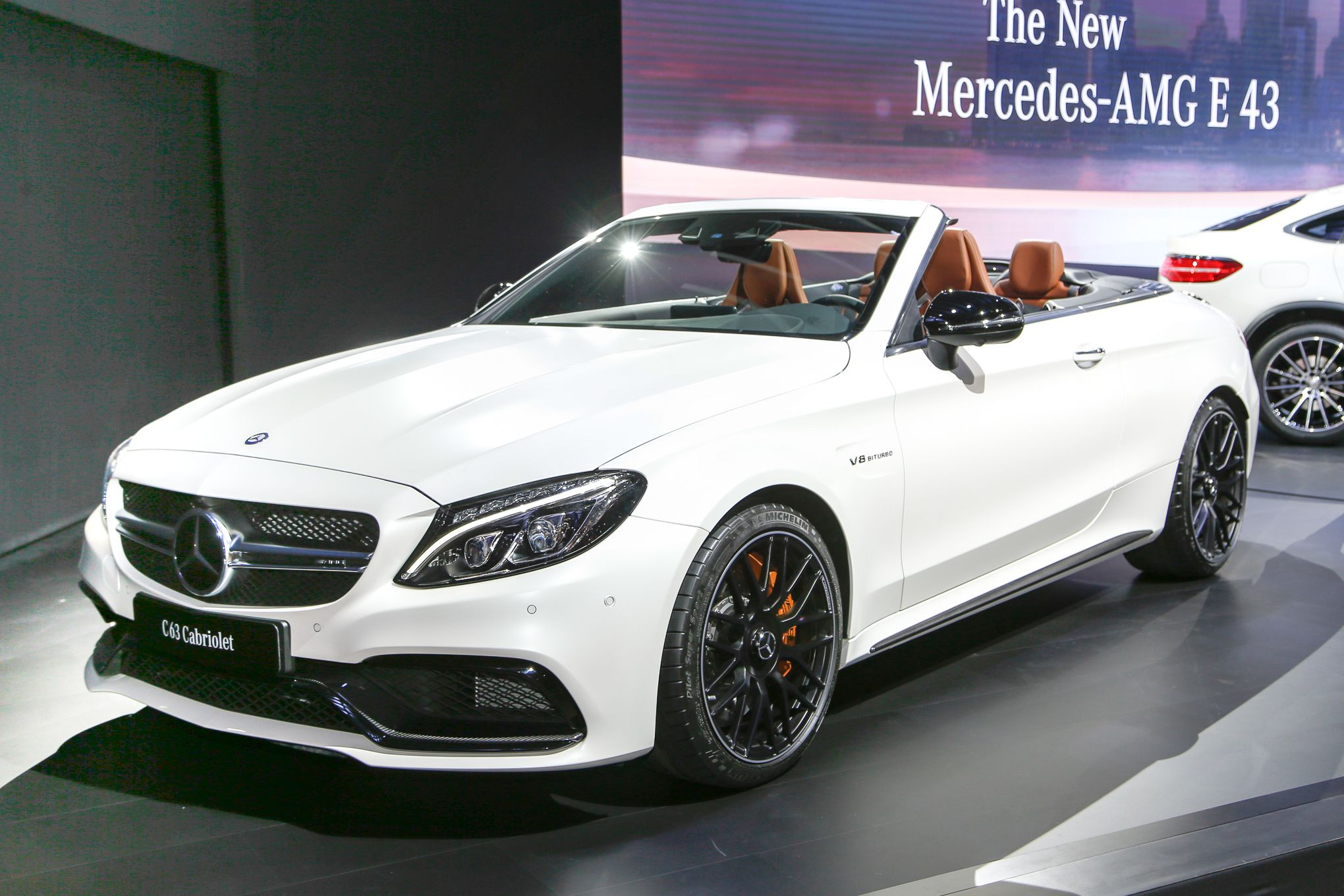 2017 Mercedes AMG C63 Cabriolet Lets You Do 186 MPH with the Top