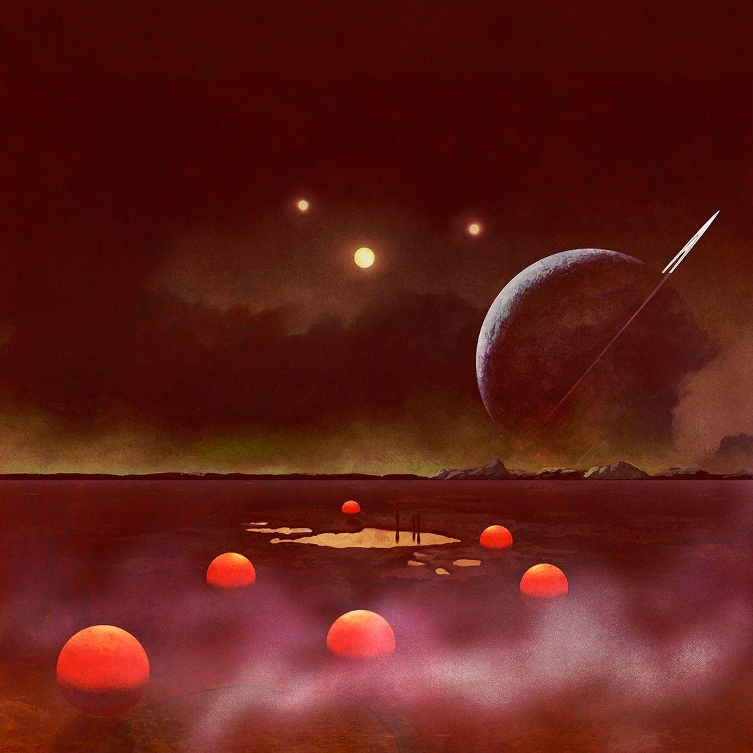Untitled Sci Fi Art 70s Sci Fi Art Space Art