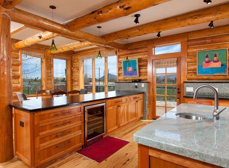 updated cabin kitchens