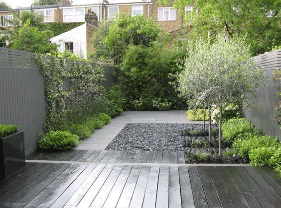 Zwarte vlonders tuin tuinen dakterrassen gardens